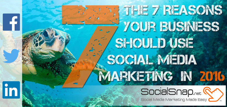 Top Seven Reasons To Use Social Media Marketing